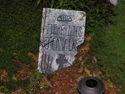 whoops i think i broke it project diy foam tombstones