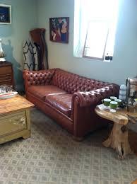 Blue Chesterfield Leather Sofa by Tan Faux Leather Sofa Regency 12345 Palliser U2013 Lenspay Me