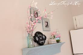 Cherry Decorations For Home Accessories Astounding Blue Cherry Blossom Ornaments Artwork