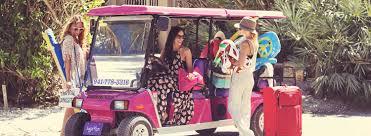 bicycle rentals kayak rentals golf cart rental beach bums
