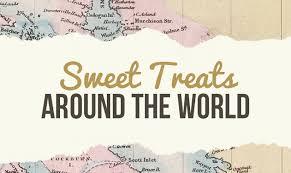 sweet treats around the world infographic visualistan