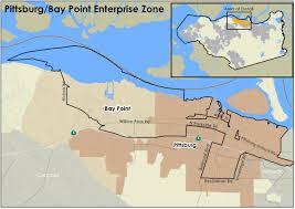Santa Clarita Zip Code Map by Enterprise Zone Program