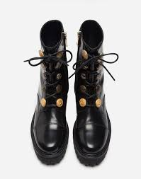 brown leather biker boots women u0027s boots and booties dolce u0026gabbana leather biker boots