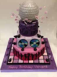 disco birthday cakes cakes by robin