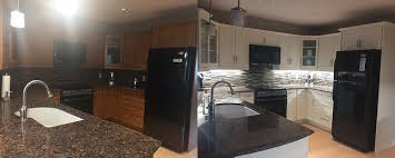 painting kitchen cabinets process the refabulated kitchen cabinet painting process how we
