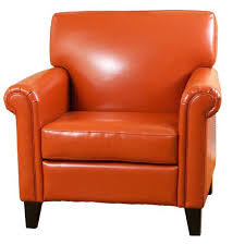 orange armchairs red vinyl bean bag orange retro sofas