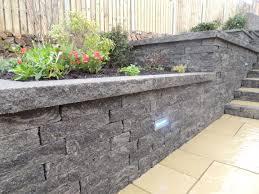 decorative garden walling