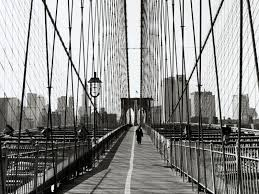 desktop wallpaper hd new york bridges brooklyn bridge new york city white black grey free desktop