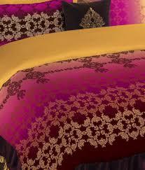 portico new york neeta lulla multicolour double bedlinen u0026 4 pc
