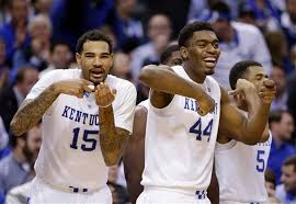basketball bench celebrations hoopbuisness says dakari and willie will declare for the draft