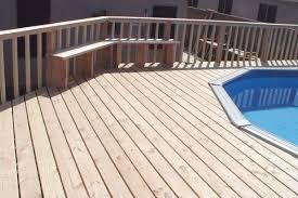 tips for building wood decks