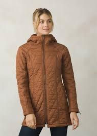 diva long jacket water repellent standard fit prana