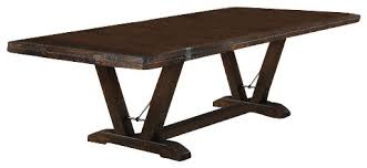 Dining Table Kit Mission Dining Table Pedestal Kit With Base Plans 4