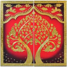 buddha bodhi tree painting asianart foundmyself
