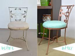 Vanity Chair Stool Diy Thrifted Vanity Chair Makeover Revamperate