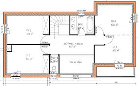 plan de maison a etage 5 chambres modele plan maison etage gratuit avie home con plan maison 5
