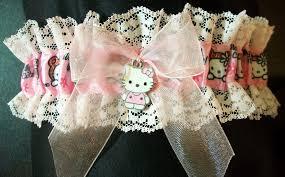 Garters For Wedding Something Blue Wedding Garter Hello Kitty
