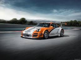 Porsche 911 Orange - 2011 orange porsche 911 gt3 r hybrid wallpapers