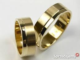 obraczki slubne goldrun złote obrączki ślubne p 451 6mm para katowice sprzedajemy pl