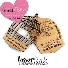 wooden wedding invitations wooden wedding invitations 7 laser link