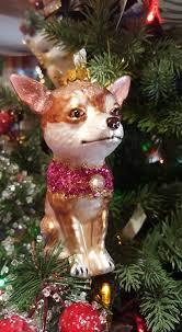 bazaar mundo chihuahua ornament