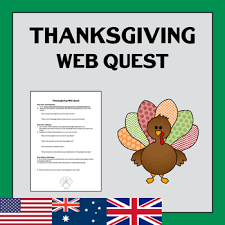 free 4th grade thanksgiving webquests resources lesson plans