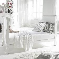Sleigh Cot Bed Izziwotnot Bailey Sleigh Cot Bed White Amazon Co Uk Baby