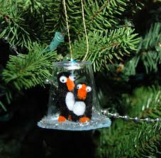 that artist how to make a penguin snow globe