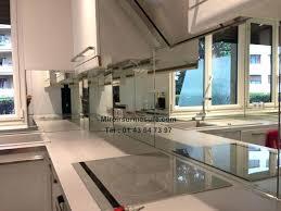 cr ence en miroir pour cuisine credence miroir cuisine carrelage miroir cuisine pour idees de deco