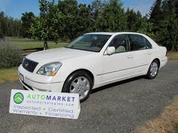 lexus ls 430 history used 2002 lexus ls 430 rare loaded insp warr for sale in