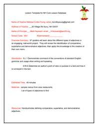 demonstrative adjectives lesson plans u0026 worksheets