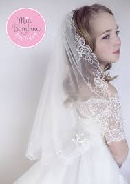veil gloria communion veil for by mb dress boutique