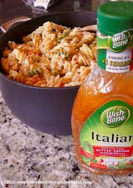 classic pasta salad wish bone u0027s classic italian pasta salad everyday cooking adventures