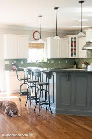 Before And After White Kitchen Cabinets Painted Kitchen Cabinet Ideas And Kitchen Makeover Reveal The