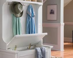 Entryway Cubbies Bench With Cubbies And Hooks Rustic Entryway Storage Bench With