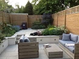 Split Level Garden Ideas Split Level Courtyard Garden