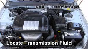 add transmission fluid 2002 2005 hyundai sonata 2004 hyundai