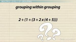 brackets in math types u0026 examples video u0026 lesson transcript
