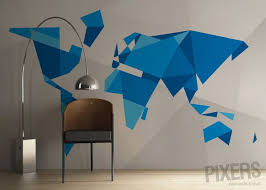 map mural 5 map wall murals that you can t pass by indifferently