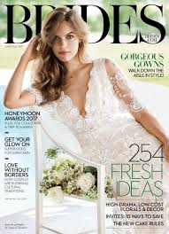 brides magazine the brides june july 2017 issue is here with hundreds of fresh