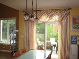 kitchen sliding door window treatments panels window treatments