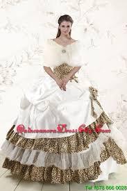 2015 quinceanera dresses 2015 unique strapless leopard quinceanera dresses with made