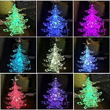 miniature christmas tree lights amazon com usb powered miniature christmas tree multicolor leds