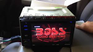 boss audio installation and tutorial in dash double din bv9362bi