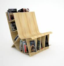 furniture accessories reading chair with bookshelves creative