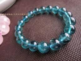 bracelet crystal string images Brazil imported crystal hand string of pure vitreous blue blue jpg