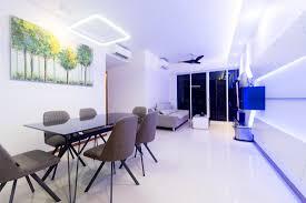 a dual key executive apartment with futuristic design features