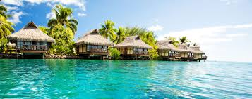 Tiki Hut On Water Vacation Oceania Cruises South Pacific Tiki Huts Overwater Bungalows