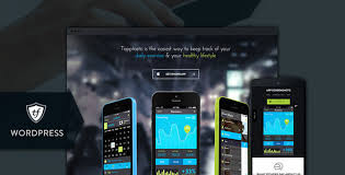themes for mobile apps tapptastic app wordpress theme a responsive wordpress theme for
