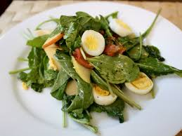 Dinner Egg Recipes Dinner Tonight Apple Arugula And Pancetta Salad With Quail Eggs